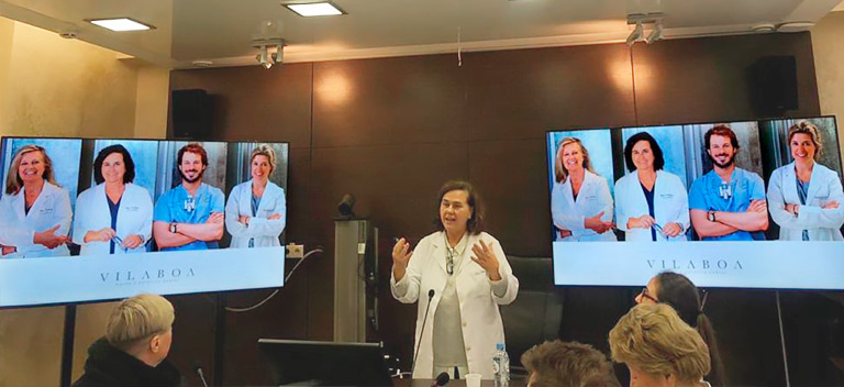 Master Class de Beatriz Vilaboa en la Medicine and Dental State University of Moscow