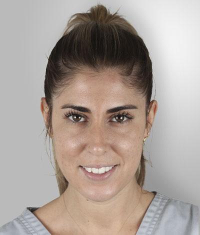 Sandra Alonso, Higienista