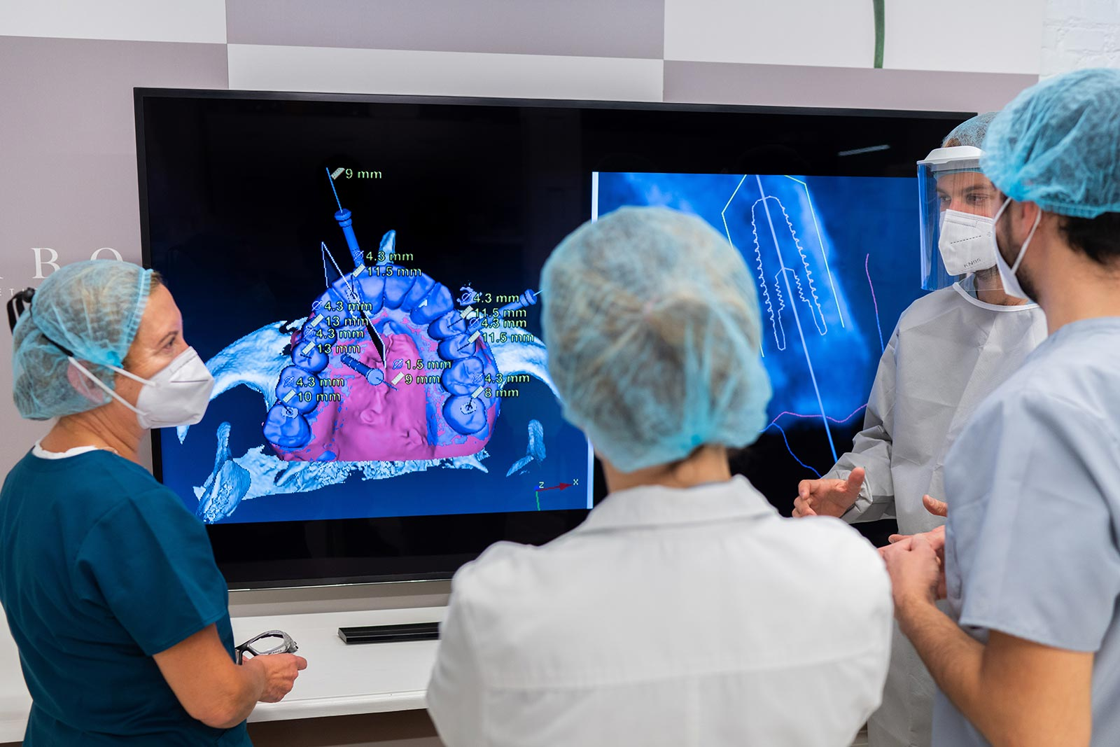 Cirugía guiada por ordenador - Clínica Vilaboa